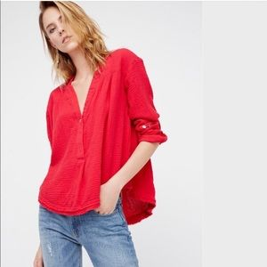 Free People Changing Horizons Pullover Top